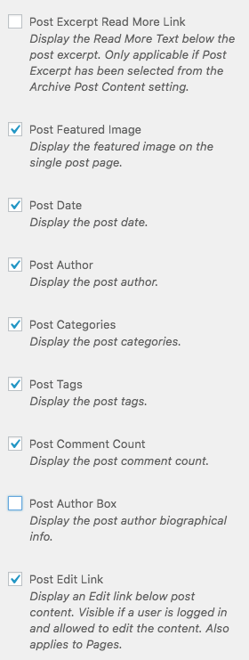 Appearance > Customize > Theme Settings > Blog